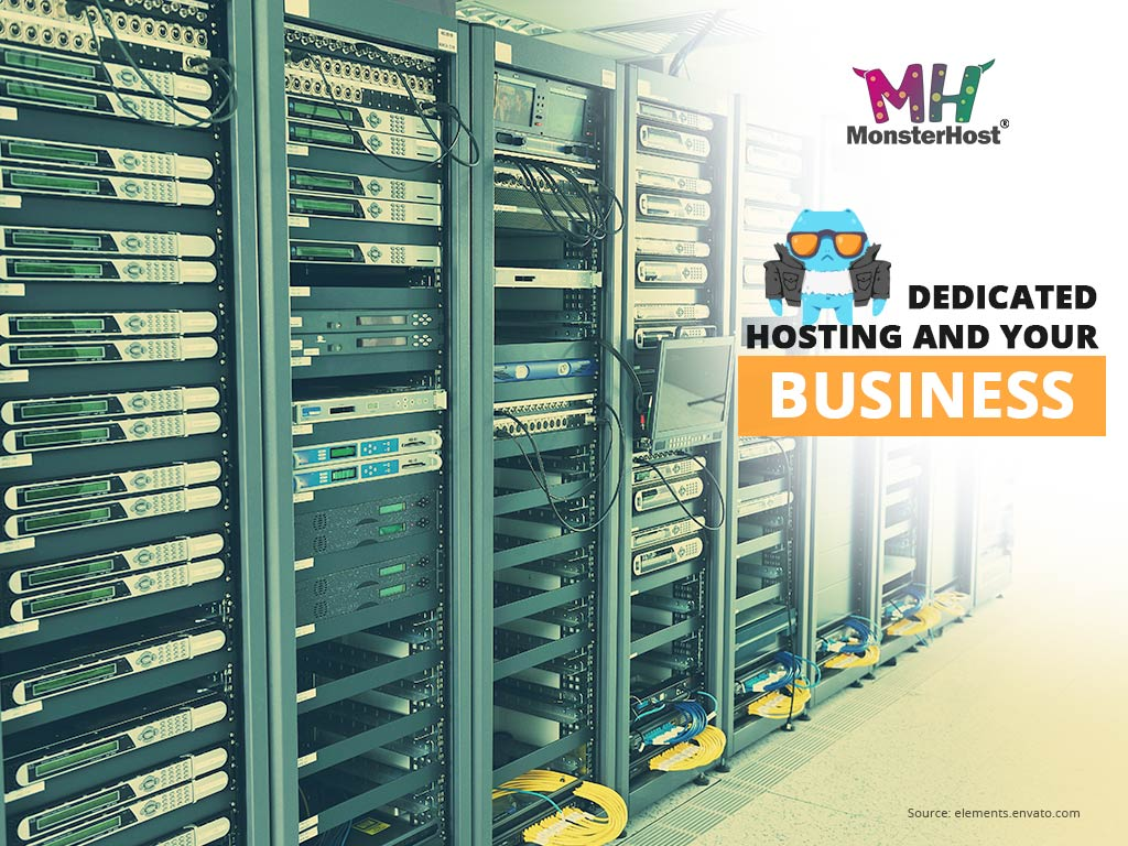 Dedicated Hosting Server Room