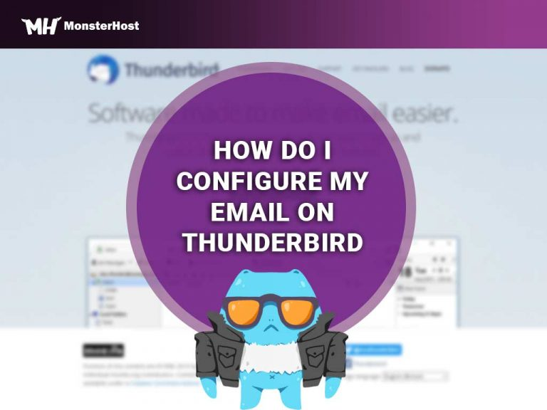 Configure Email for Thunderbird - Image #1