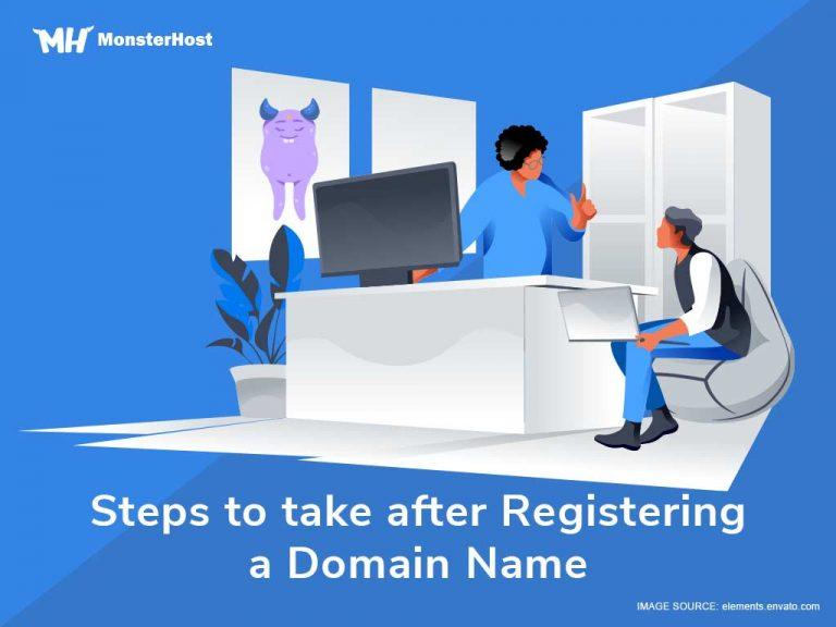 after-register-domain-name