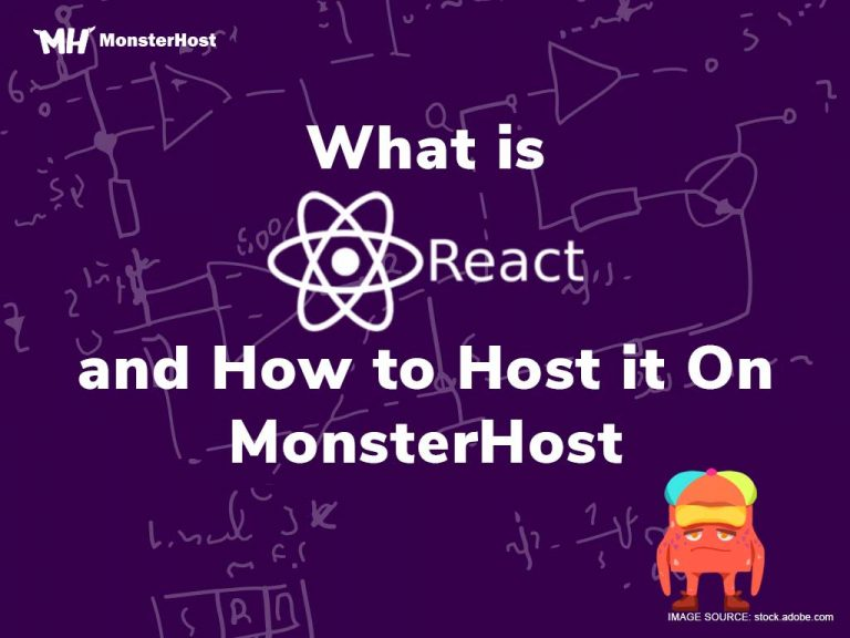 what-is-react-and-how-to-host-it-on-monsterhost
