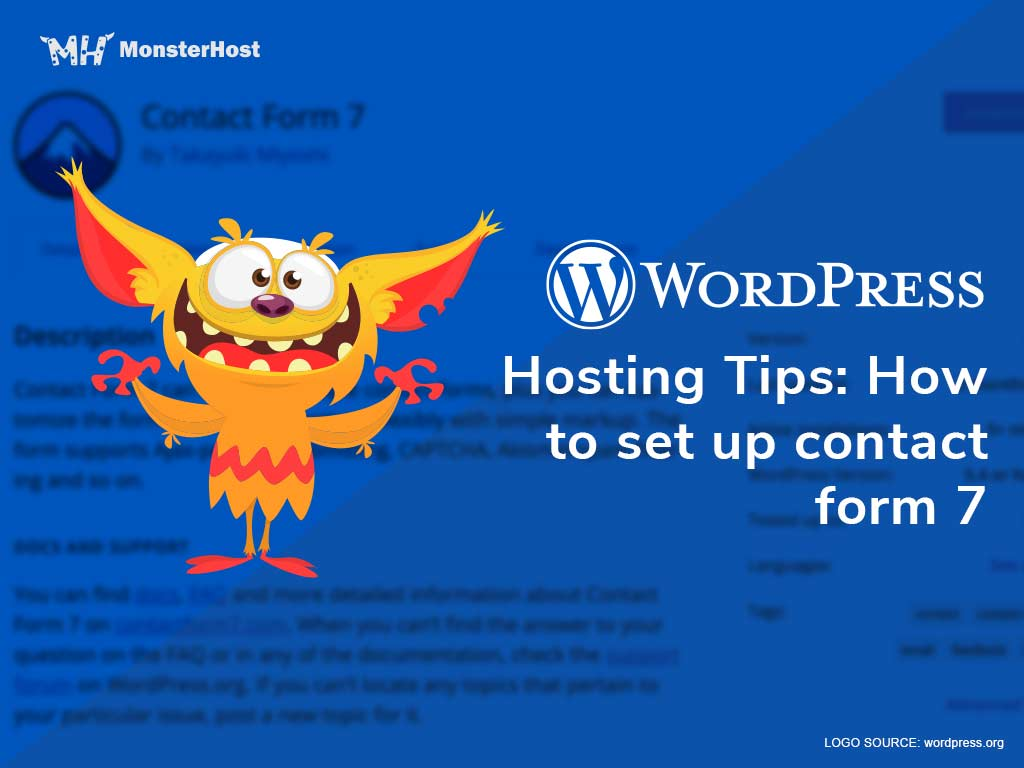 Web Hosting Tips: How to Set up Contact Form 7 - Image #1
