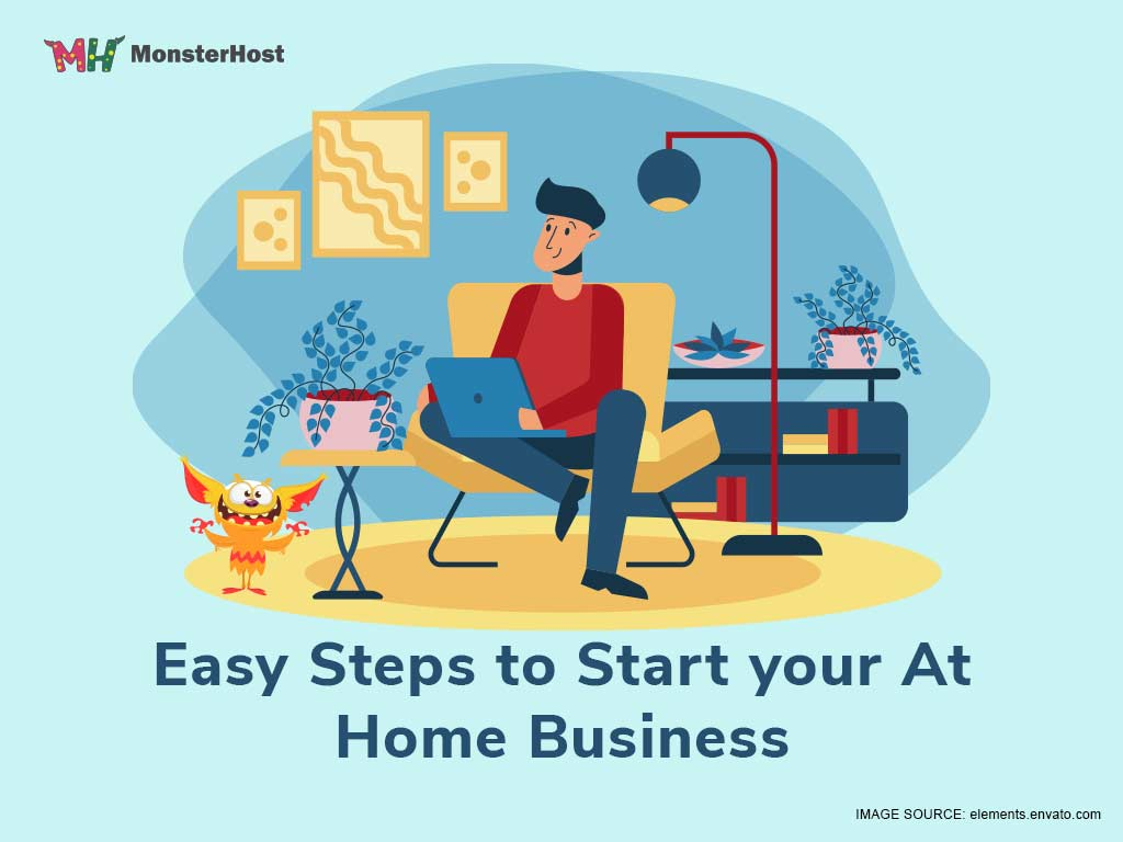7 Easy Steps to Start Your At Home Business - Image #1