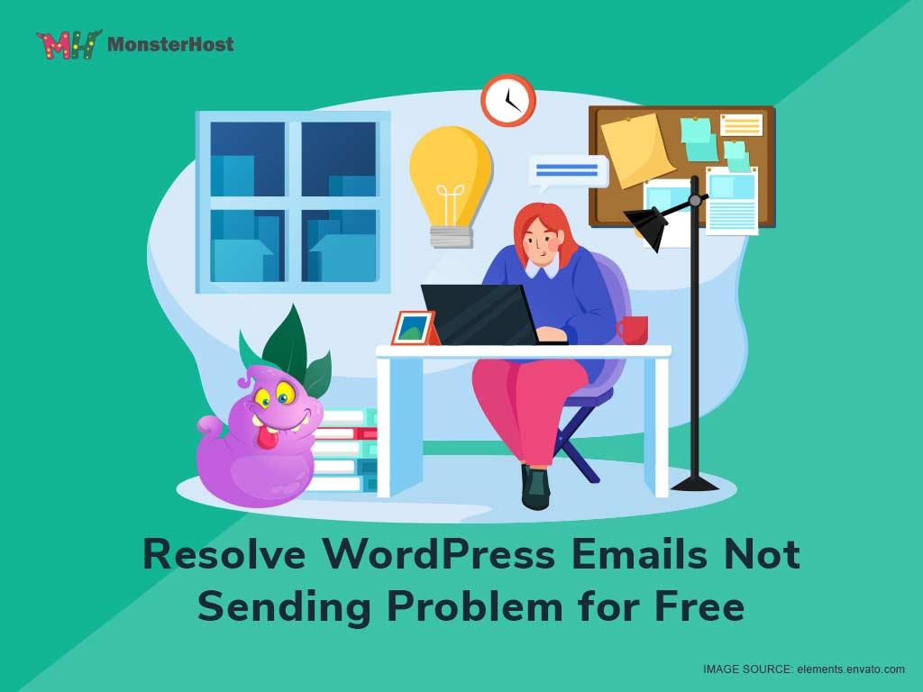 Resolve WordPress Emails Not Sending Problem for Free - Image #1