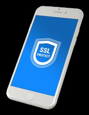 SSL footer cta
